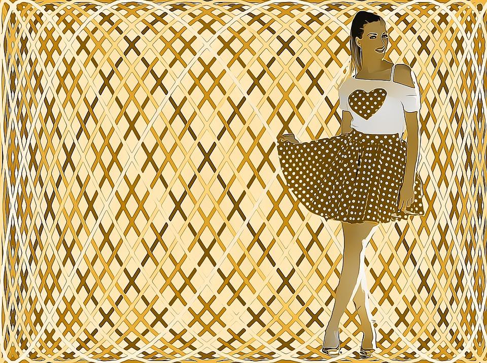 Petticoats verleihen dir etwas Einzigartiges in deinem Outfit